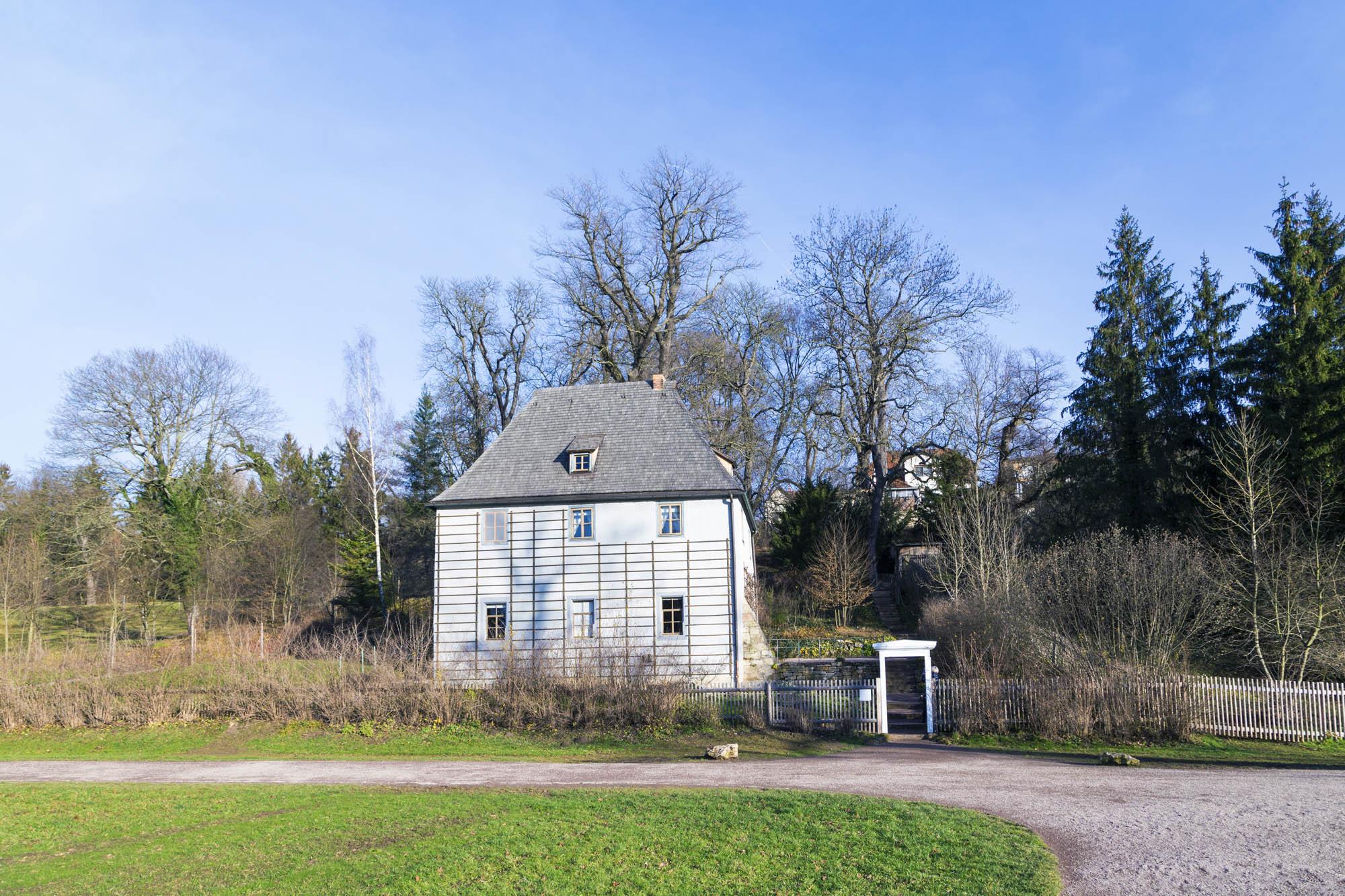 Goethes Gartenhaus im Park an der Ilm in Weimar, Deutschland