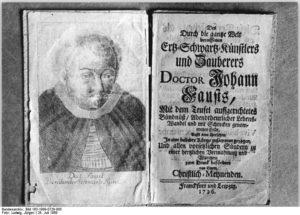 PD Dr. Jörn Bockmann: Doktor Faustus, der Verdammte. Zur Vor-und Nachgeschichte von Goethes Faust-Gestalt. @ Literaturhaus